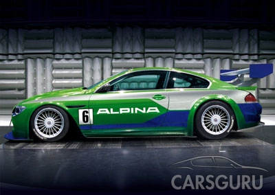 BMW B6 S Alpine GT3