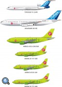 Флот S7 Airlines