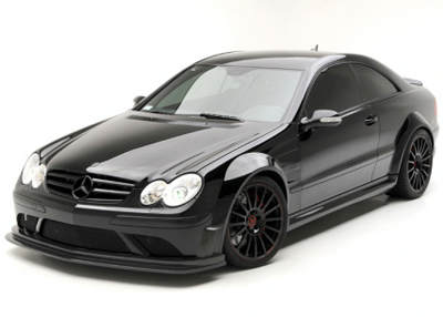 CLK 63 AMG Black Series Black Widow от Vorsteiner