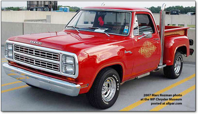 Dodge Li'l Red Express Truck 1978