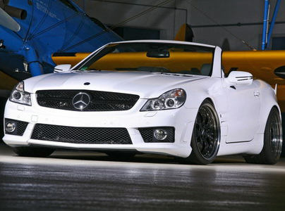 Mercedes SL 65 AMG White Angel от Inden-Design