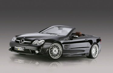 Mercedes SL R230 Avalange RS от Piecha Design