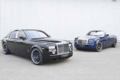 Rolls Royce Phantom и Drophead от Hamann