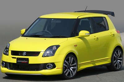 Тюнеры Monster доработали Suzuki Swift Sport