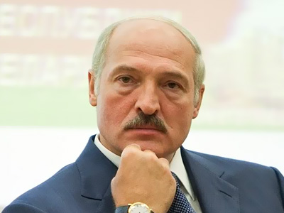 Президент Белорусии Александр Лукашенко. Иллюстрация: editorfm.blog.tut.by