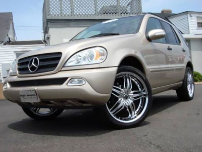Mercedes-Benz ML. Иллюстрация: dealerrevs.com
