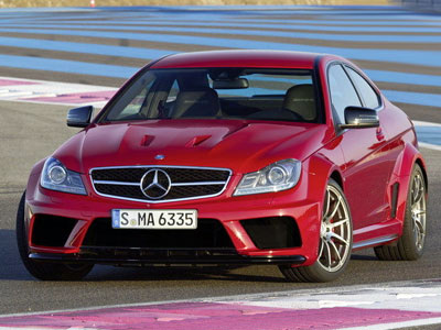 Mercedes C63 AMG Black Series Coupe. Иллюстрация: topspeed.com
