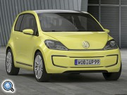 Электрокар Volkswagen E-Up! вышел на тесты