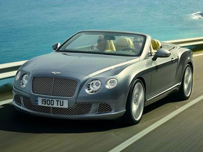 Bentley Continental GTC. Иллюстрация: netcarshow.com