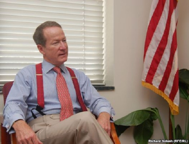 "Undersecretary of State William Brownfield said that ""the Central Asian Initiative on Drugs,"" the U.S. will be higher than the struggle for influence between Washington and Moscow.  Source: Radio Free Europe / Radio Liberty, Richard Solash."