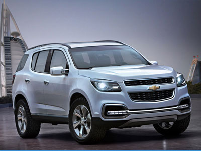 Chevrolet Trailblazer. Иллюстрация: chiangraitimes.com