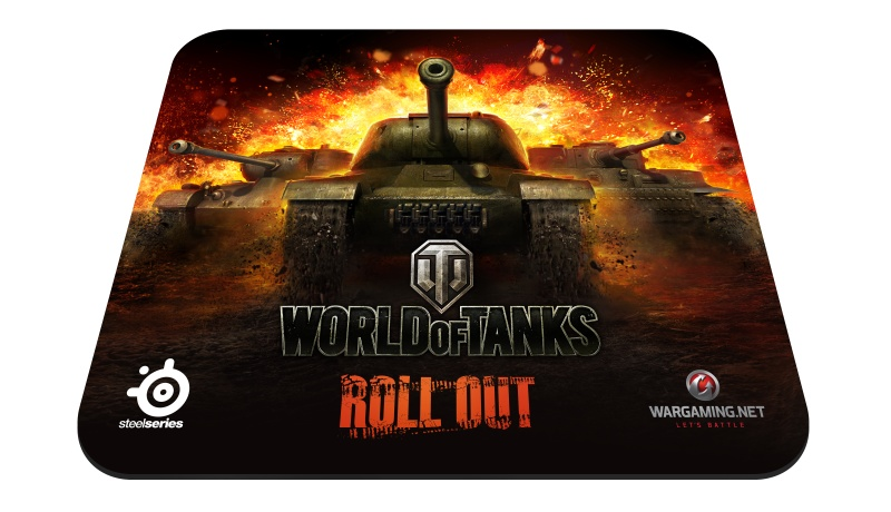 SteelSeries QcK Mousepad World of Tanks Edition