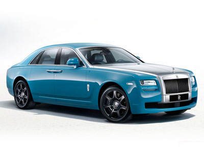 Rolls-Royce Ghost Alpine Trial Centenary Edition. Иллюстрация: gtspirit.com