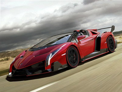 Lamborghini Veneno Roadster. Иллюстрация: telegraph.co.uk