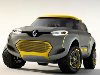 Renault Kwid. Иллюстрация: autowereld.be