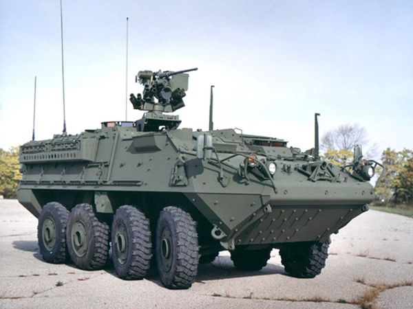 M1126 Stryker. Иллюстрация: warriorlodge.com