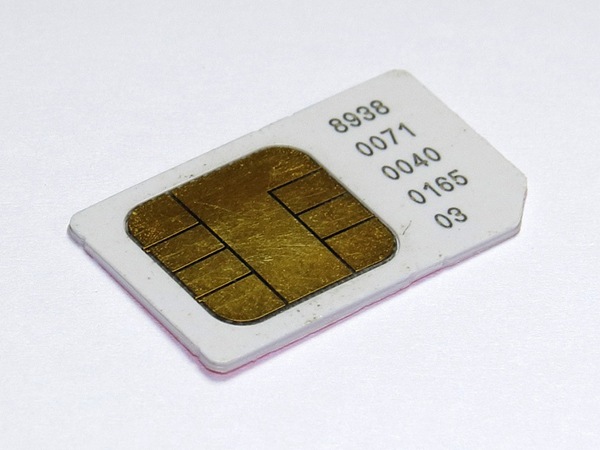 Recover data from sim card